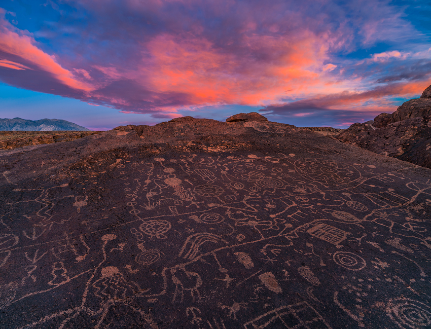 Indian Petroglyphs Volcanic Tablelands Bishop Eastern Sierra Fine Art Landscape Photography Mark Lilly