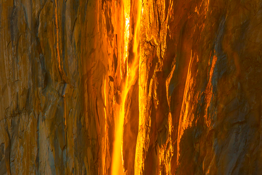 Yosemite Horsetail Falls El Capitan Mark Lilly Fine Art Photography
